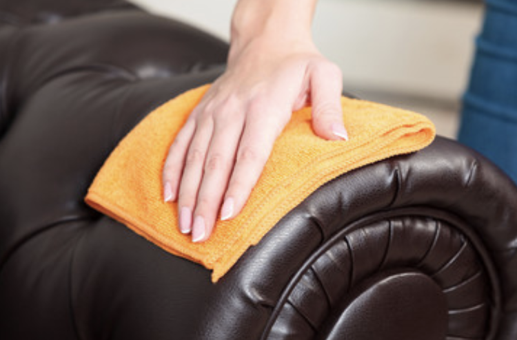 service for leather couch cleaning